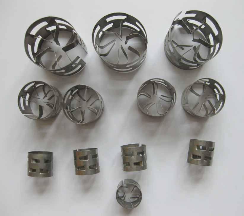 不锈钢(304)鲍尔环填料